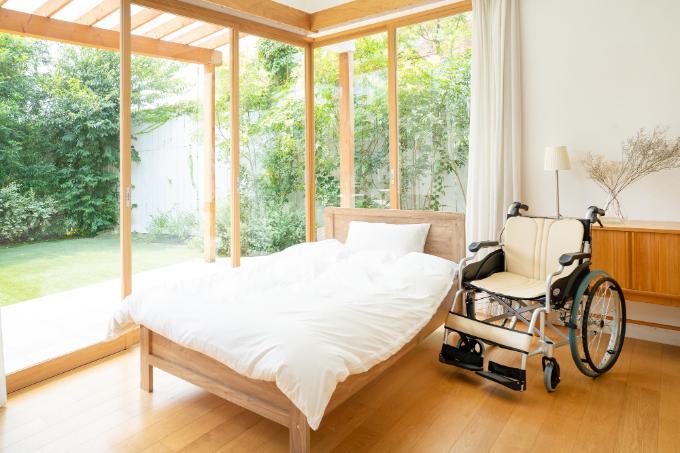 自宅 看取り介護-老人ホームの部屋