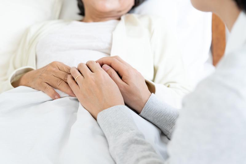 遠距離介護 支援-看取り介護