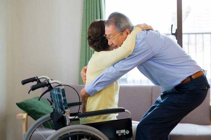 老老介護 問題点 解決策-老老介護