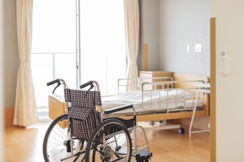 特養 ユニット型-介護施設の個室