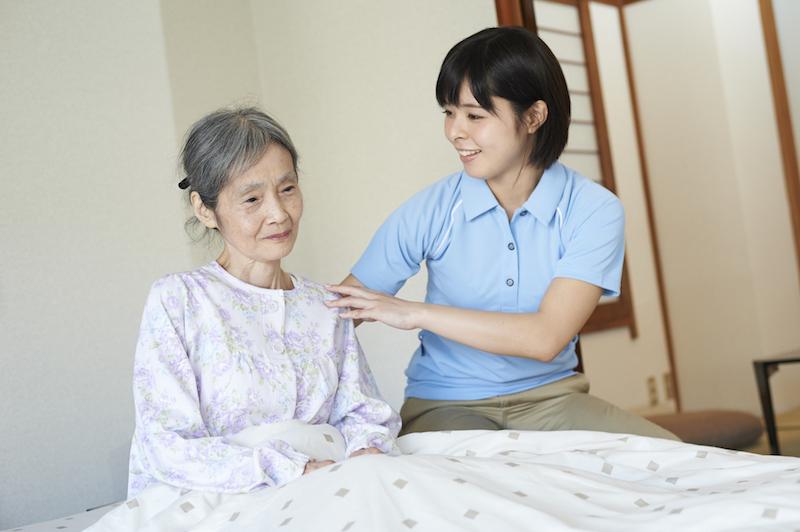 在宅介護 オムツ交換-在宅介護