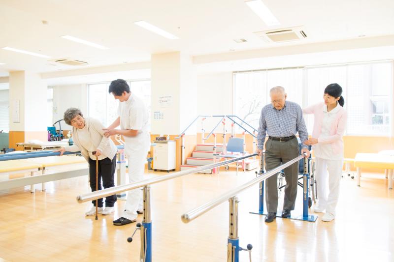 介護予防 取り組み-リハビリ施設