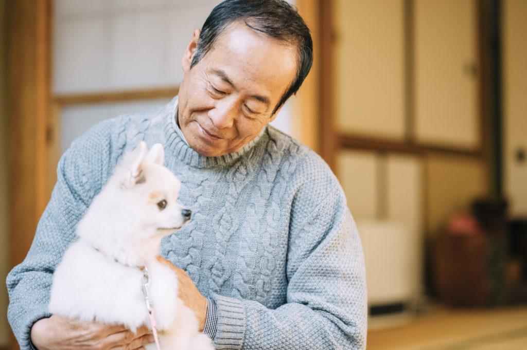 老人ホーム ペット可 北海道-犬とシニア