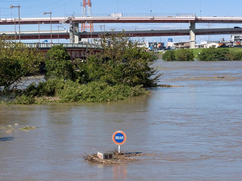 特別養護老人ホーム千寿園熊本-大雨により氾濫した河川