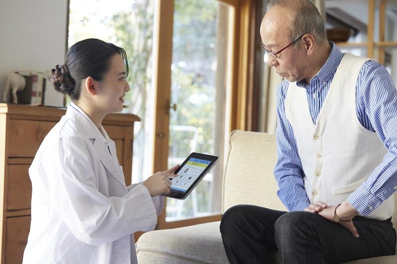 居宅療養管理指導とは-自宅で医師に健康管理を受けるシニア